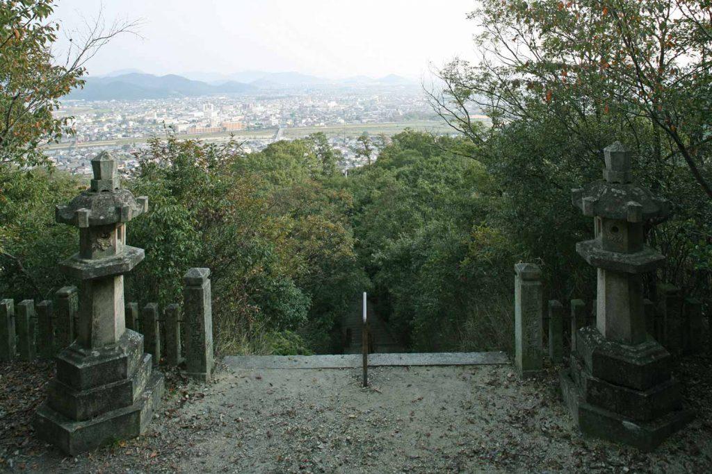 墓からの眺望