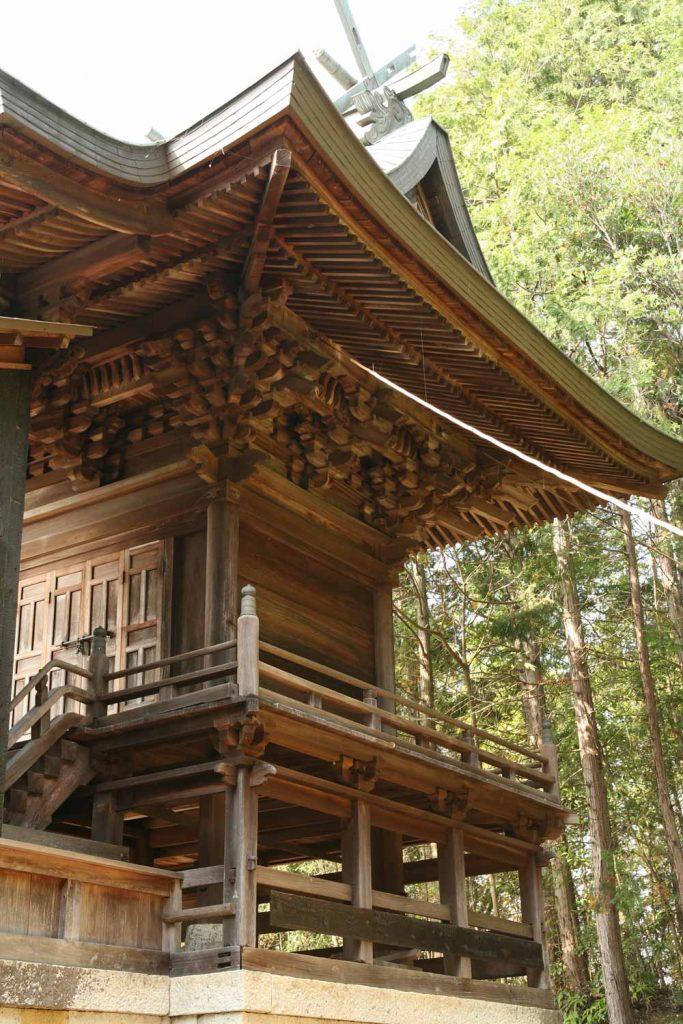 土師神社拝殿