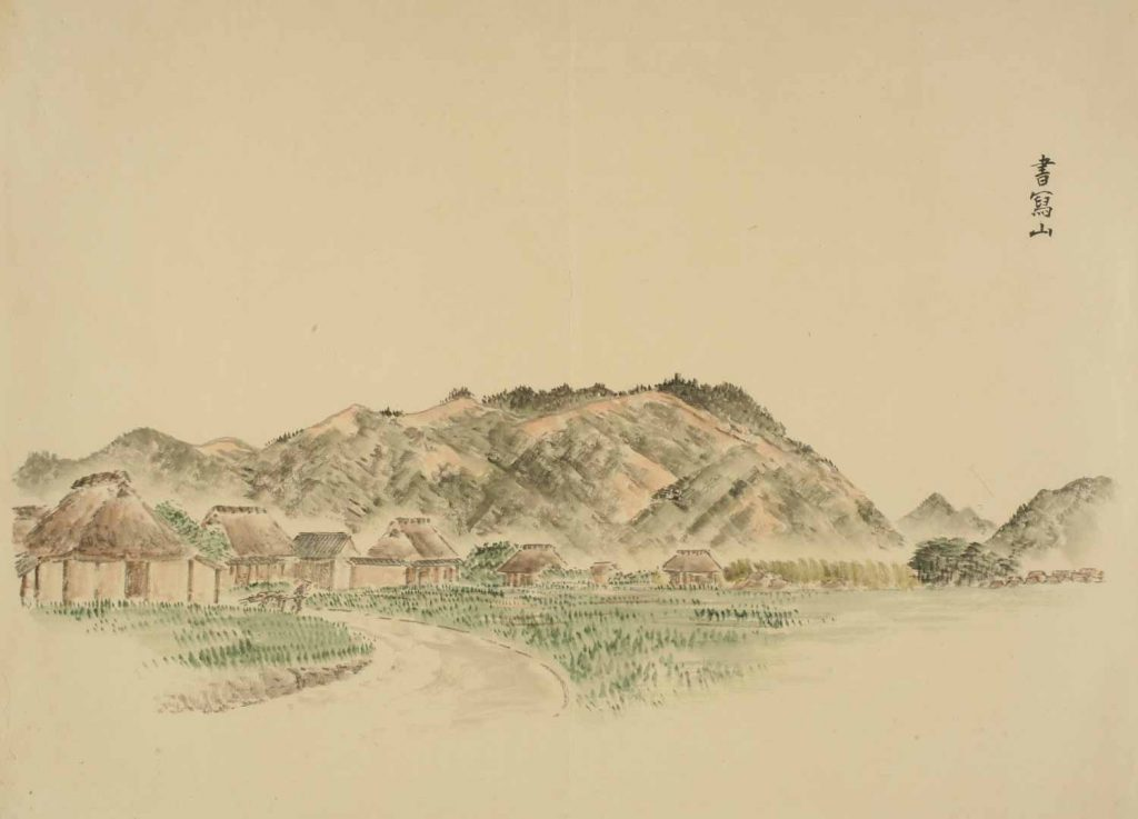 書写山 (日本真景・播磨・垂水名所図帖)