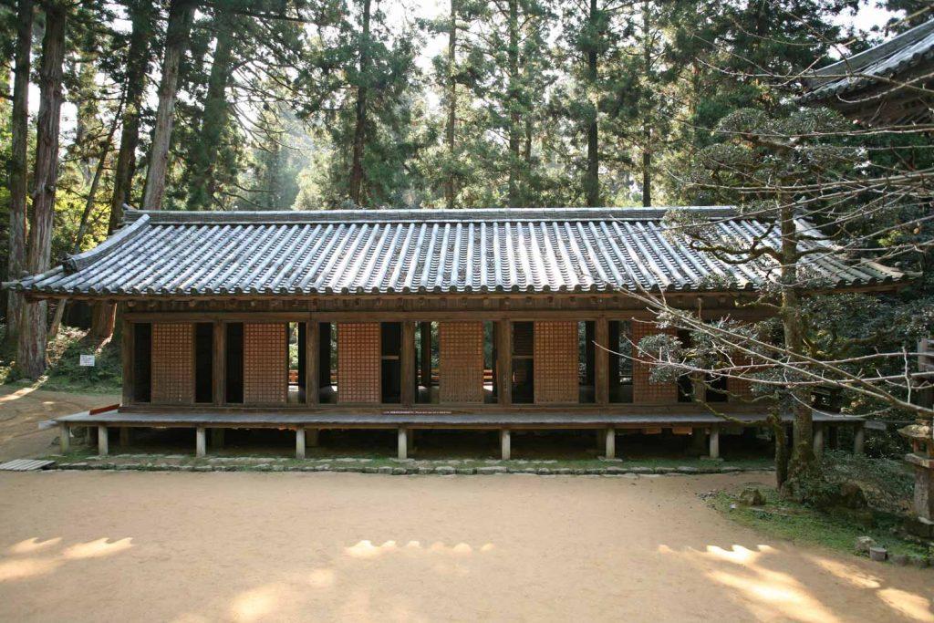弁慶の学問所 (護法堂拝殿)