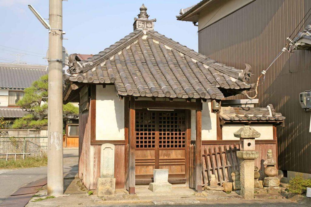 弁慶地蔵のお堂