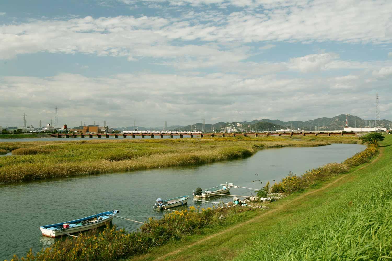 褶墓と加古川下流の風景 イメージ