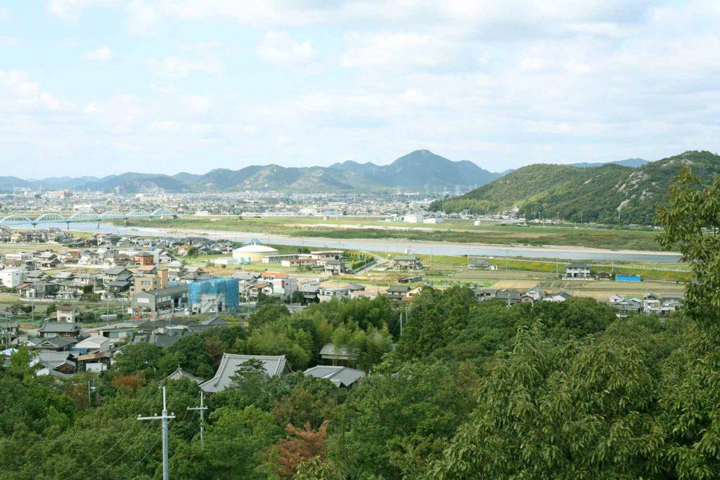 加古川方面を望む