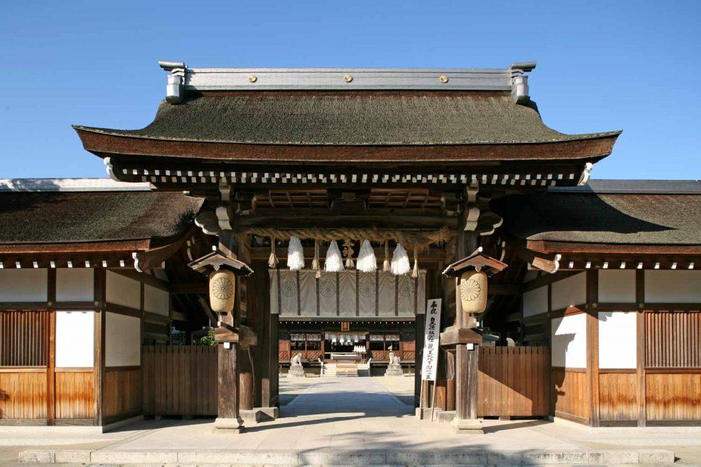 伊弉諾神宮(門)