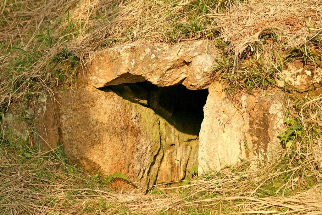 ジャンジャン穴(入口)