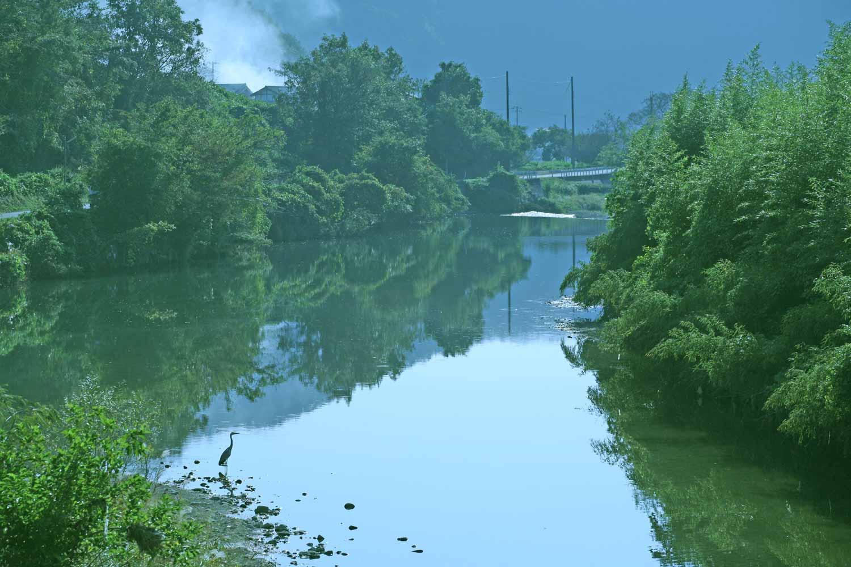 大坪村の地名伝説 イメージ