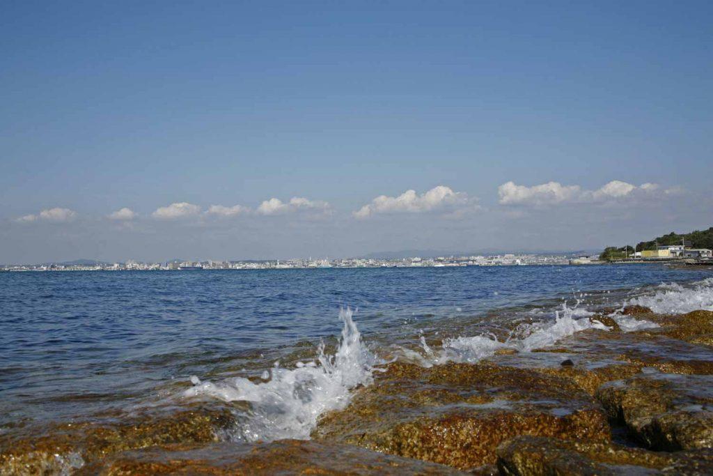 野島の海岸