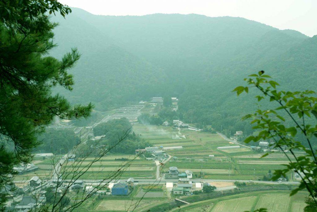 和田寺遠景